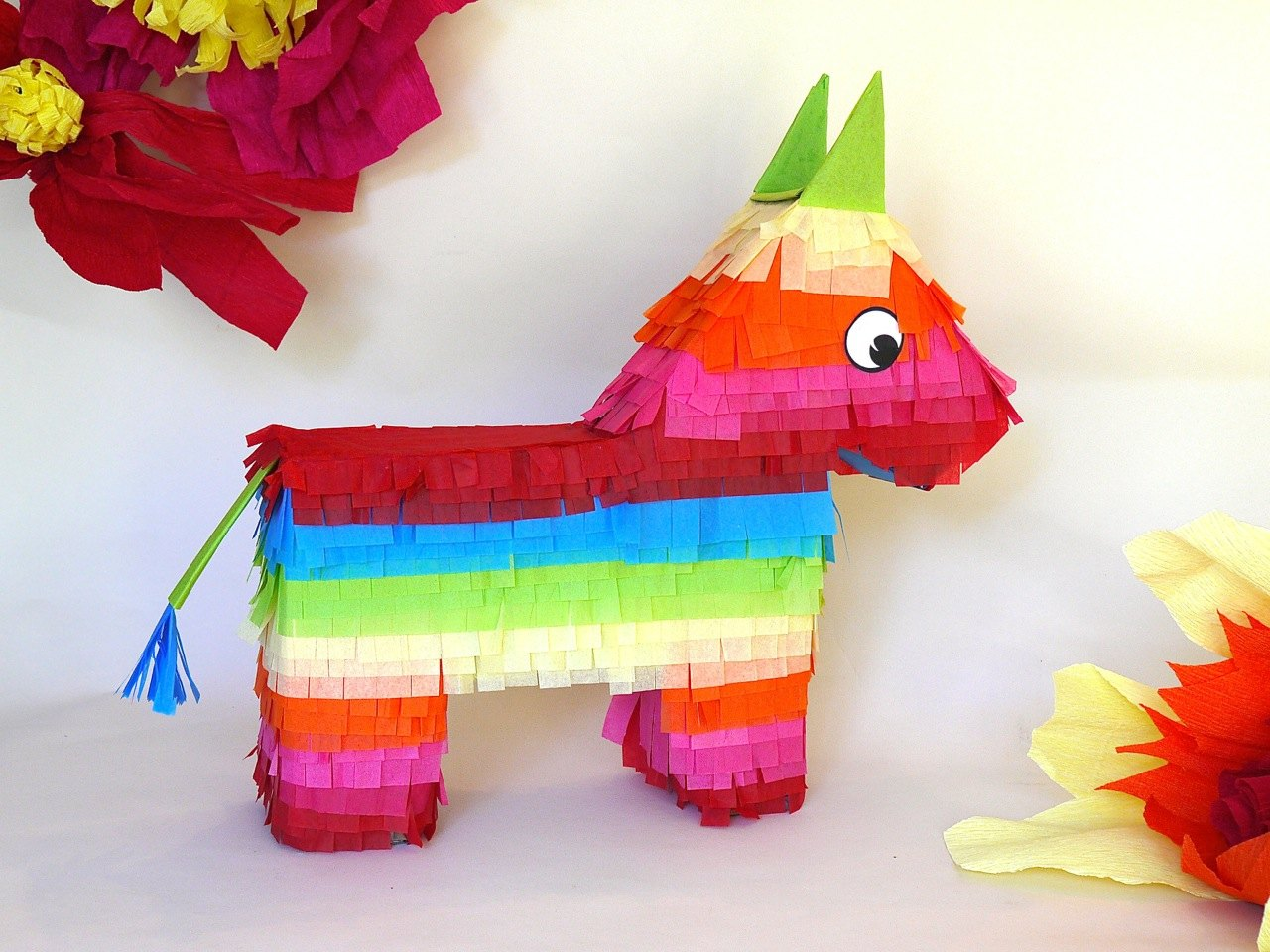 how to make a donkey pinata with pictures ehow. Black Bedroom Furniture Sets. Home Design Ideas