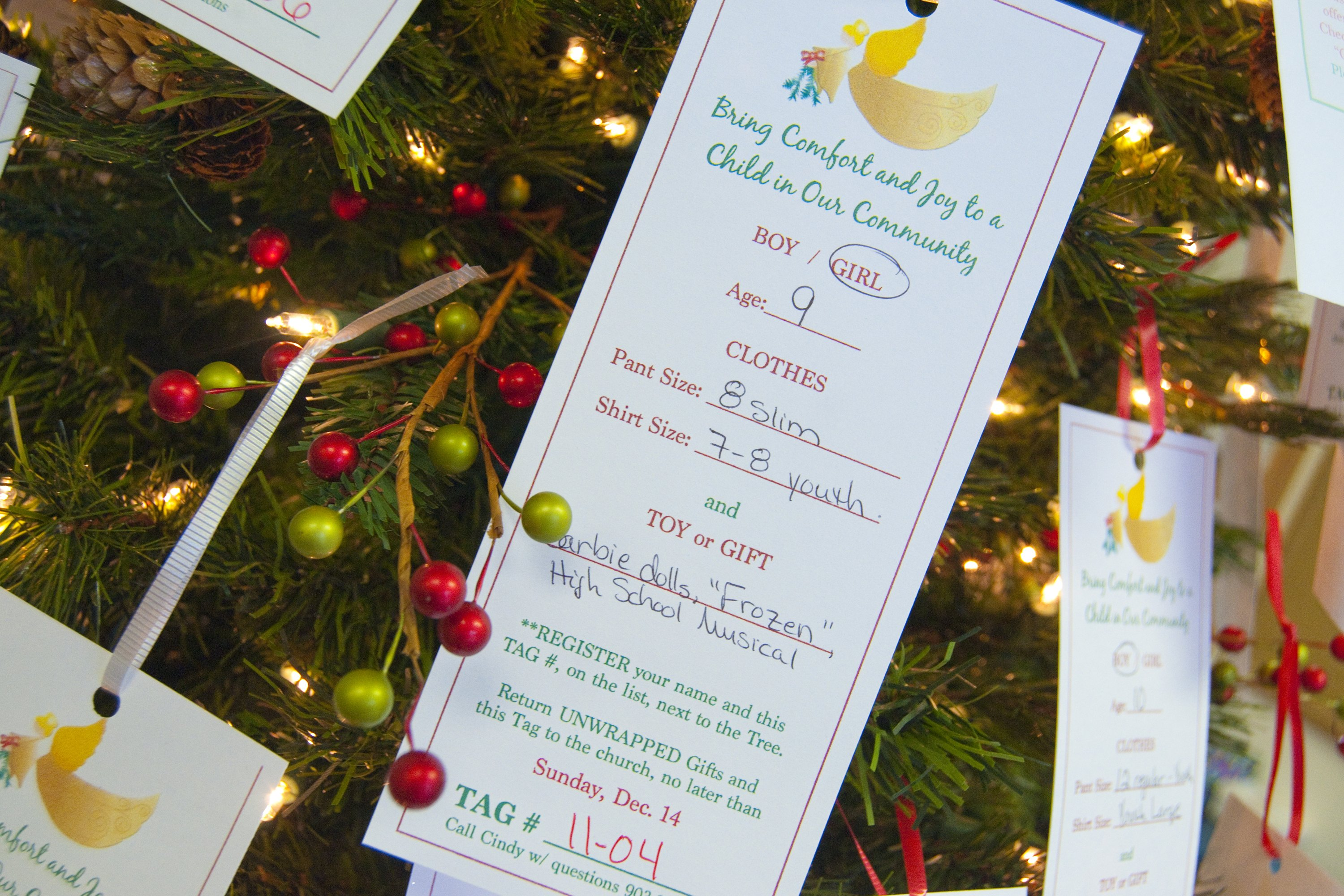 Creating An Angel Tree With Pictures Ehow
