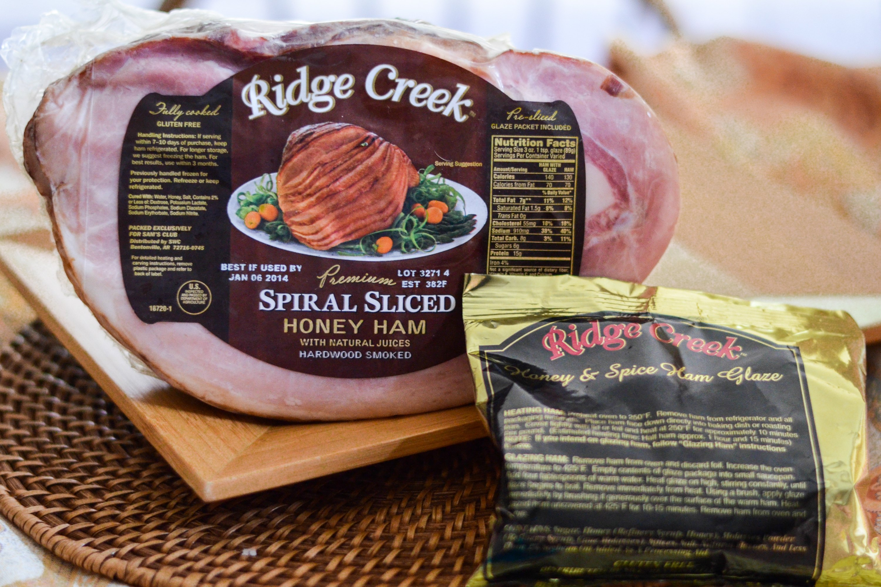 Cooking Instructions For A Ridge Creek Spiral Ham Ehow