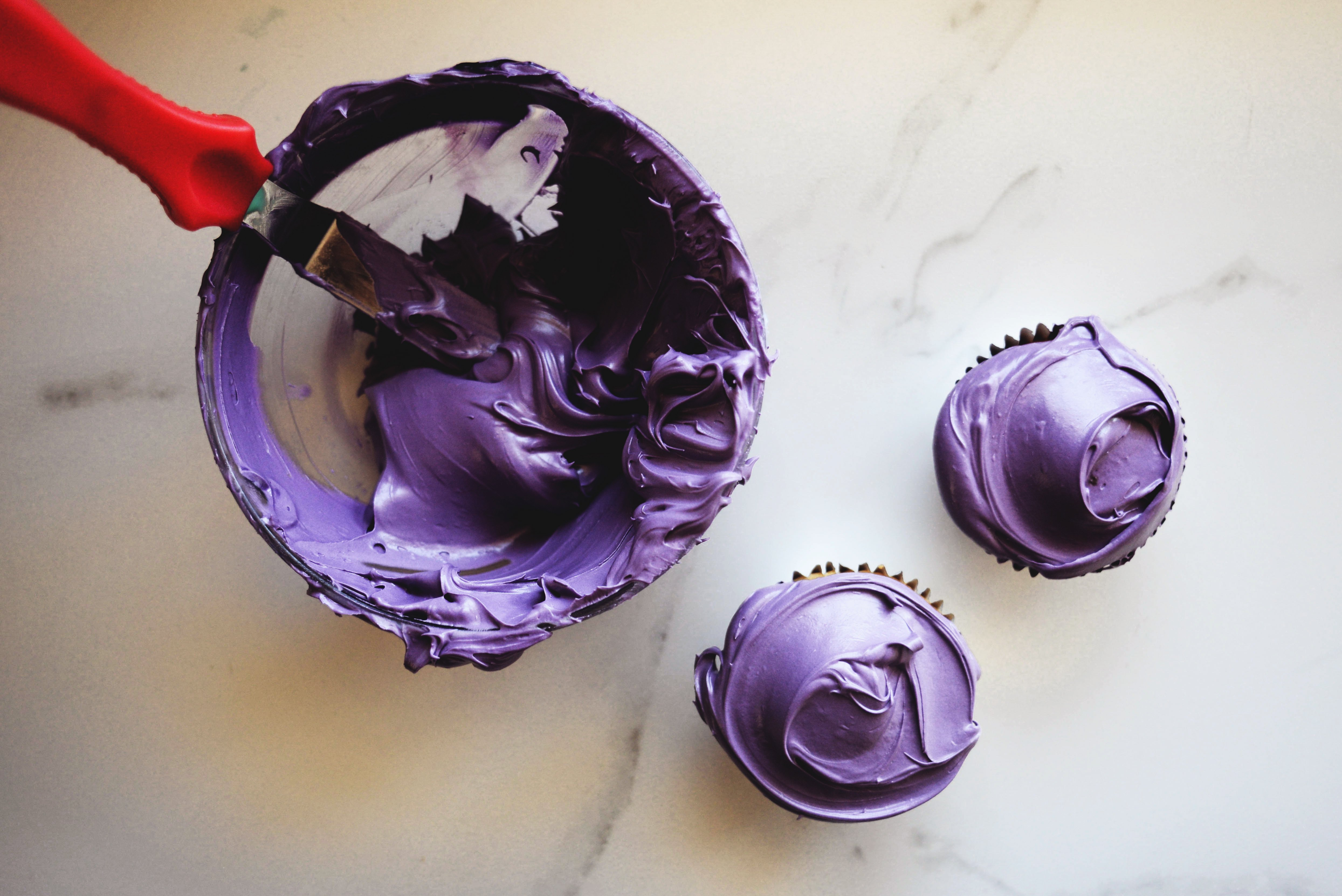 It is a graphic of Unusual What Colors Make Purple With Food Coloring