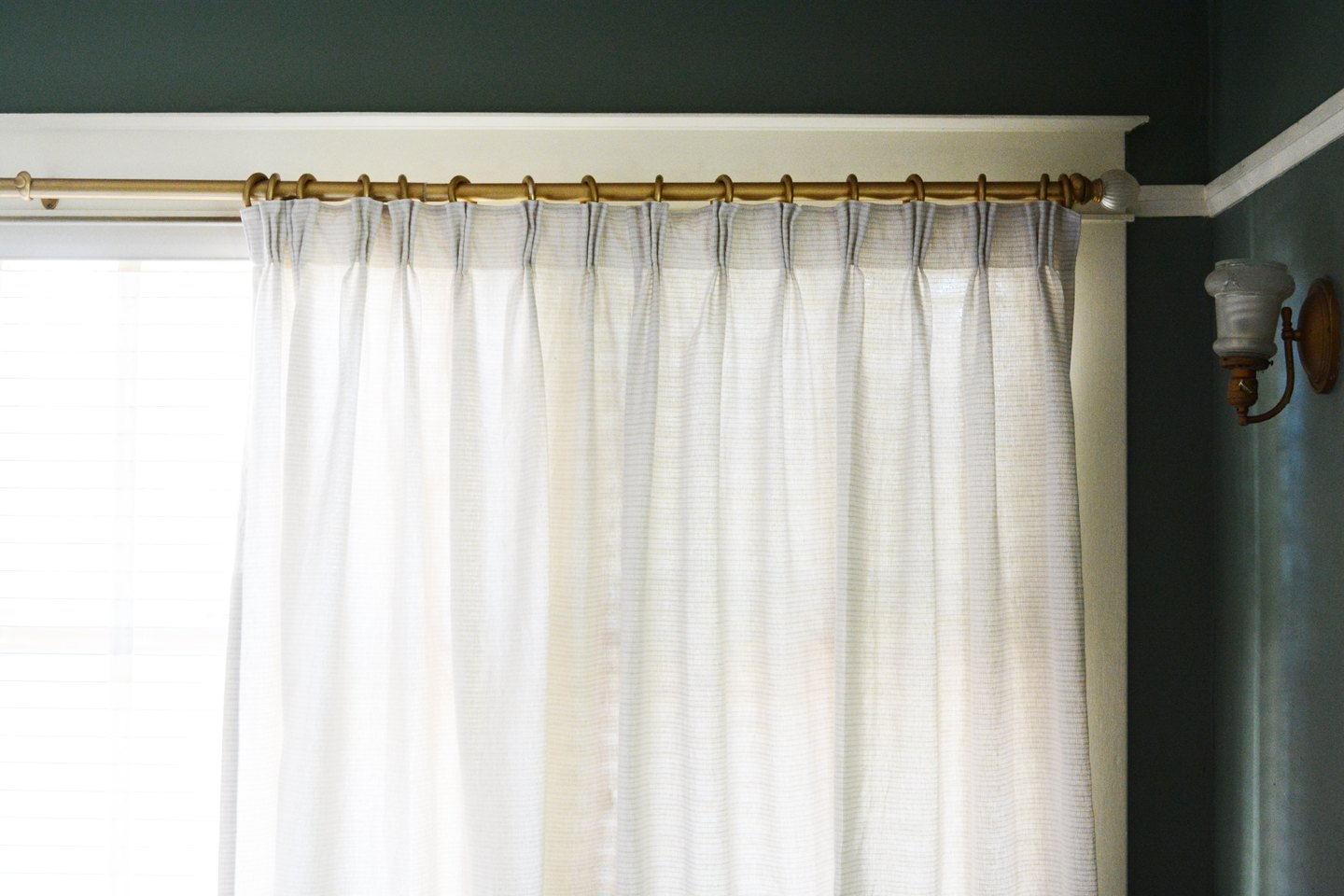Convert Inexpensive Target Curtains Into Pinch Pleat