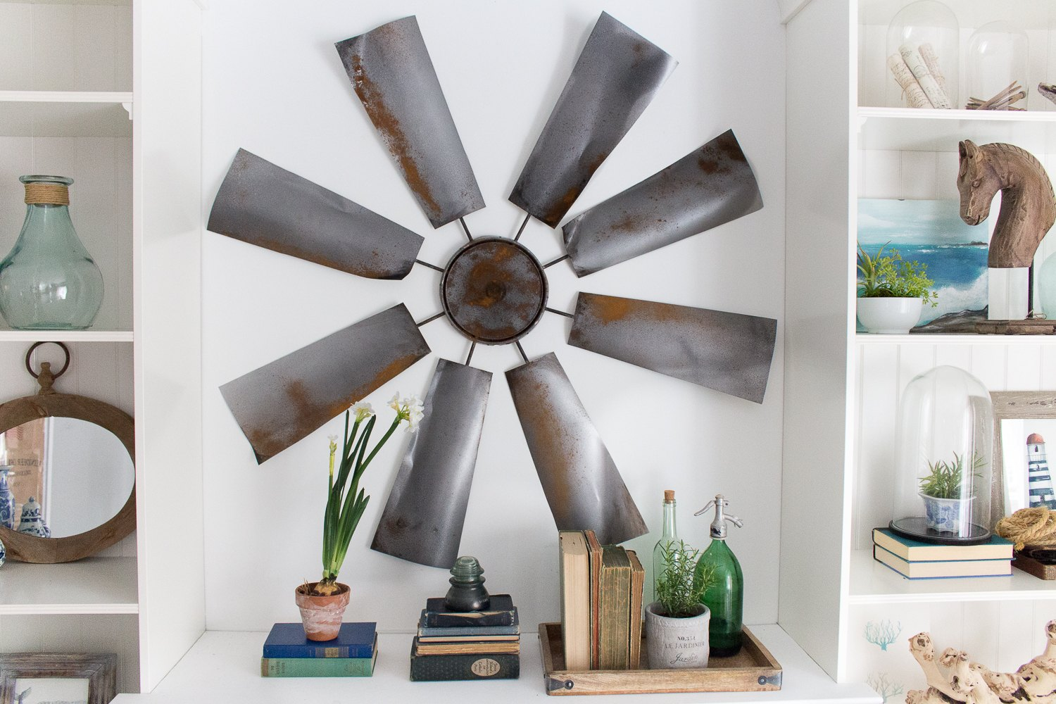 Fixer Upper Art Diy Windmill Wall Decor Ehow