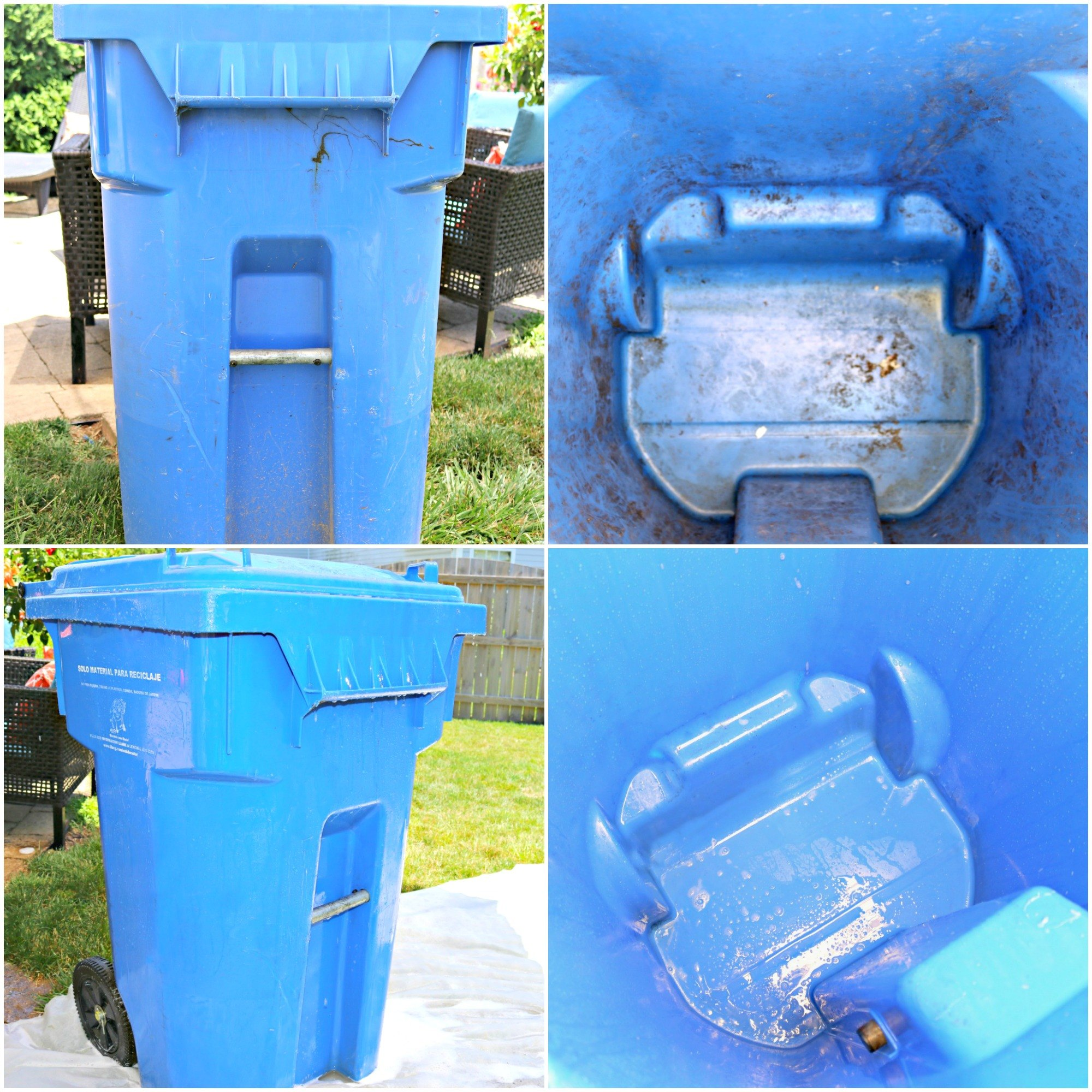 How To Clean Outdoor Garbage Cans Naturally Ehow