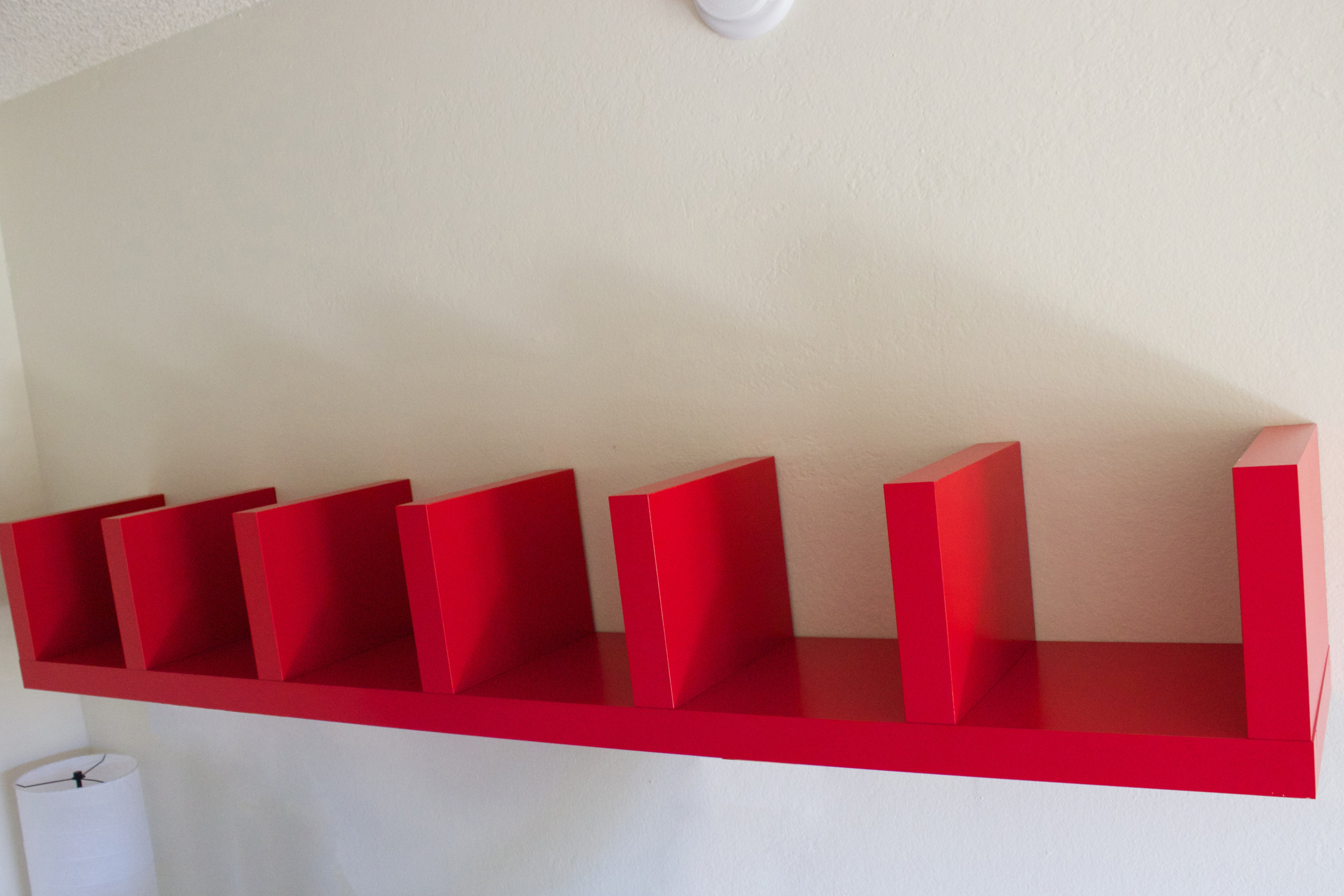 How To Install A Lack Wall Shelf With Pictures Ehow