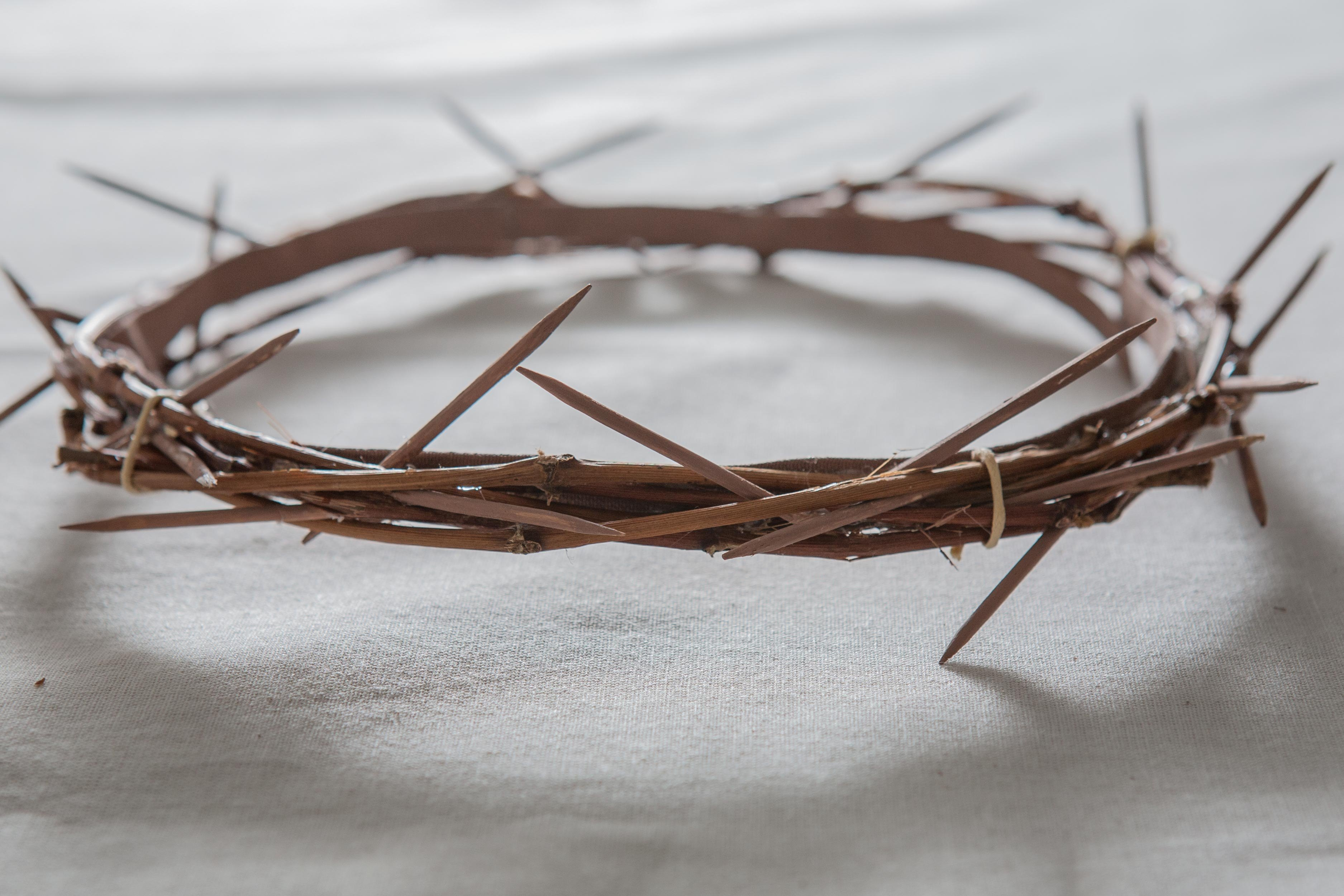 How to Make a Crown of Thorns for an Easter Play | eHow