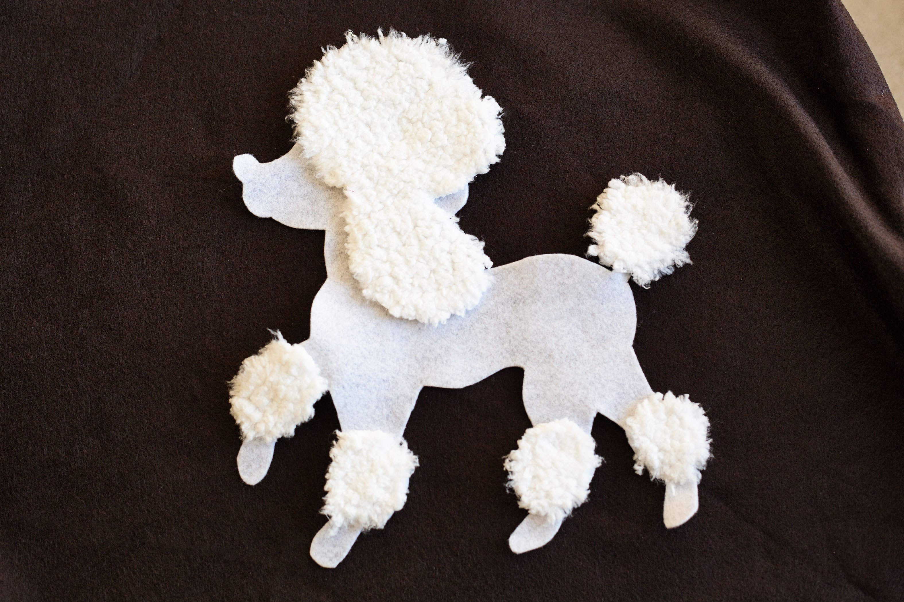poodle skirt applique template - how to make a poodle skirt out of felt with pictures ehow