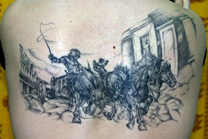 How to make tattoo stencil fluid ehow for Best soap to wash tattoo