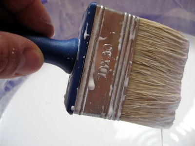 How to paint vinyl or linoleum ehow for Liquid lino floor paint