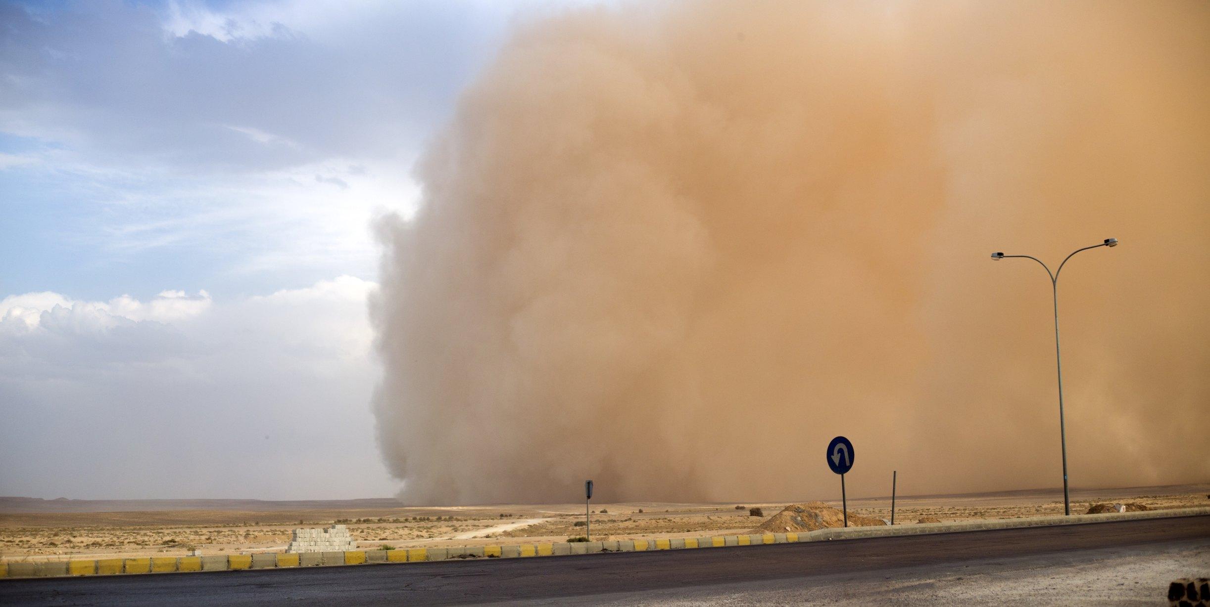 How Do Sandstorms Occur Ehow