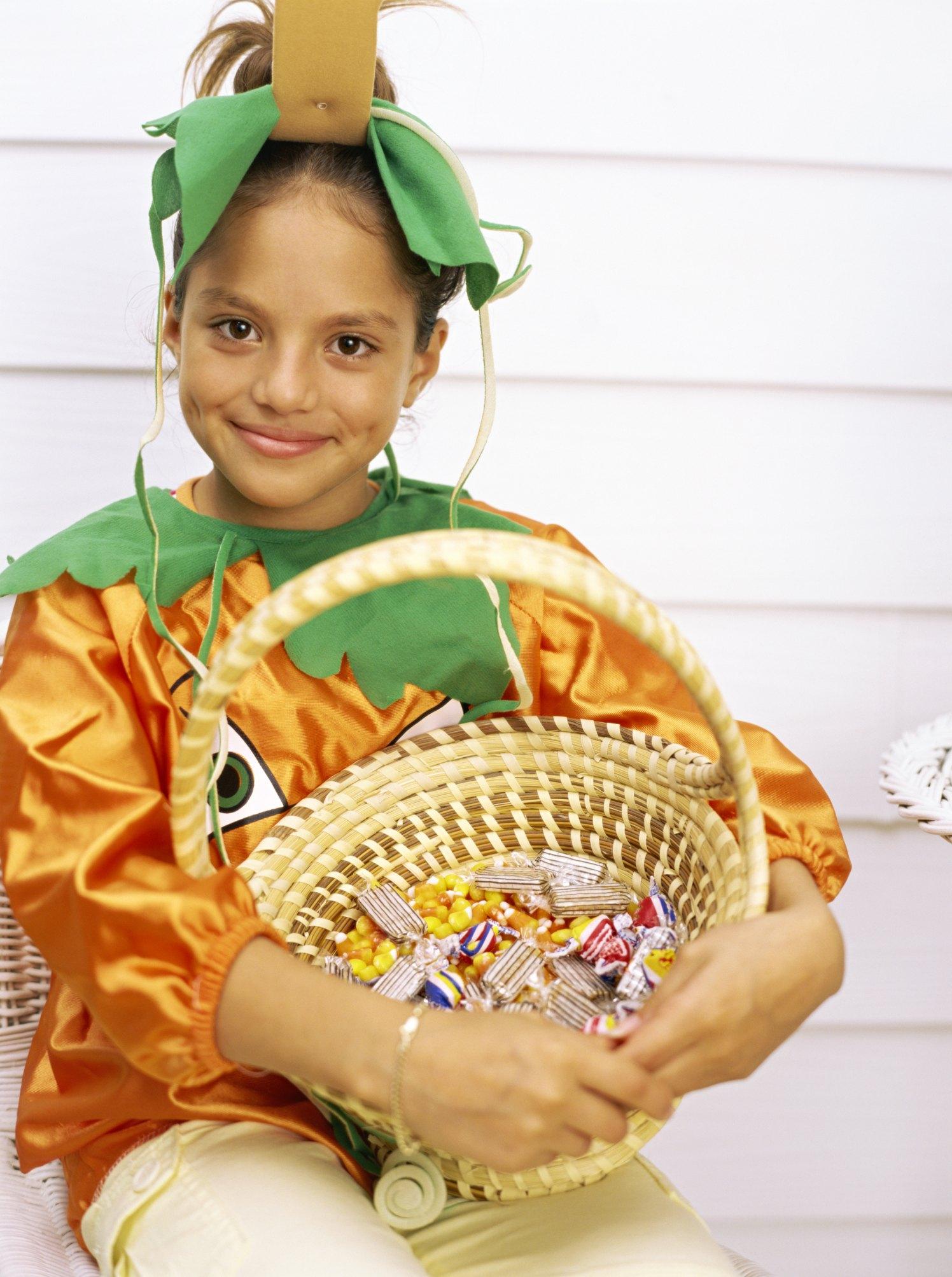 how to make a pumpkin costume | ehow