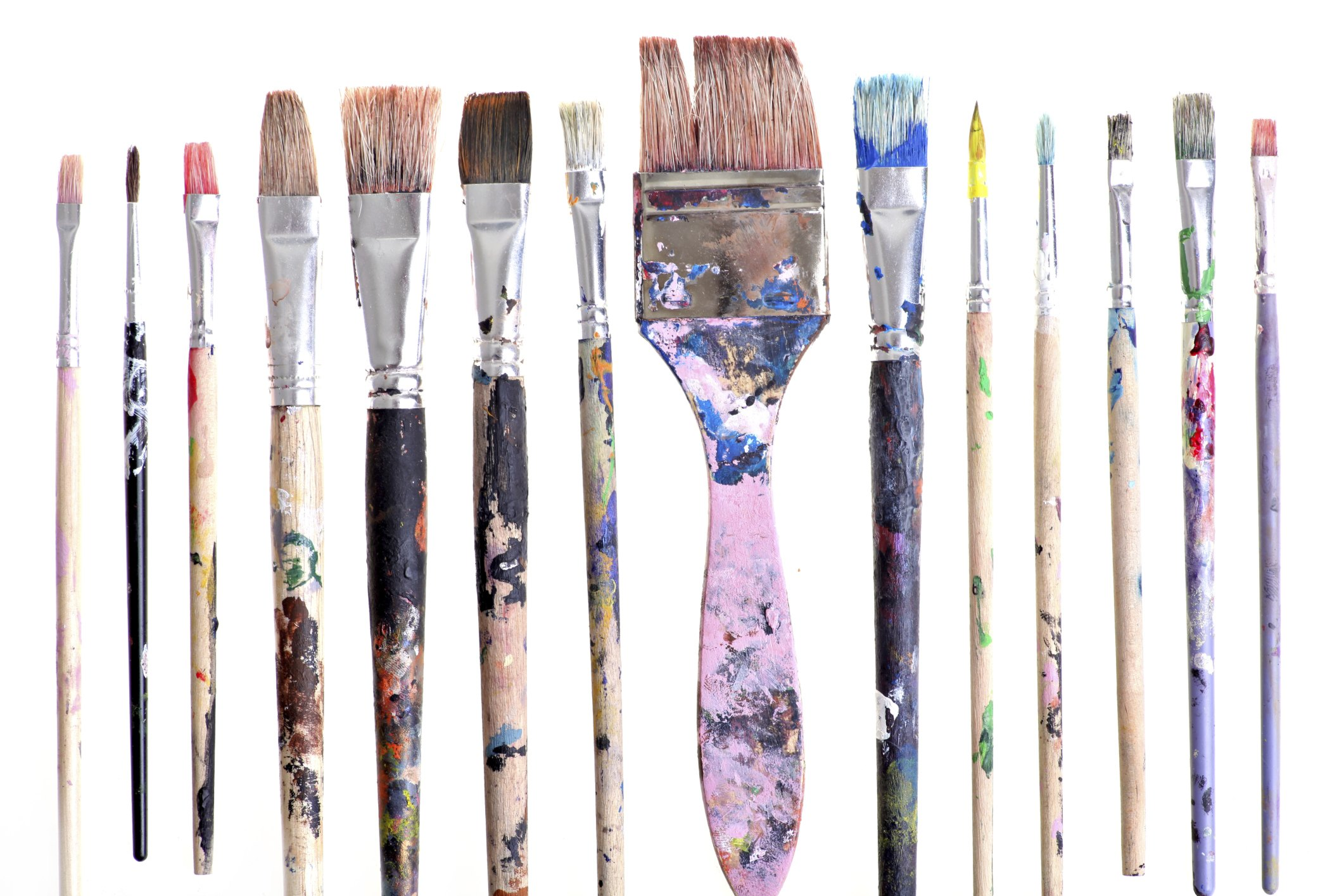 Rubbing Alcohol To Clean Paint Brushes