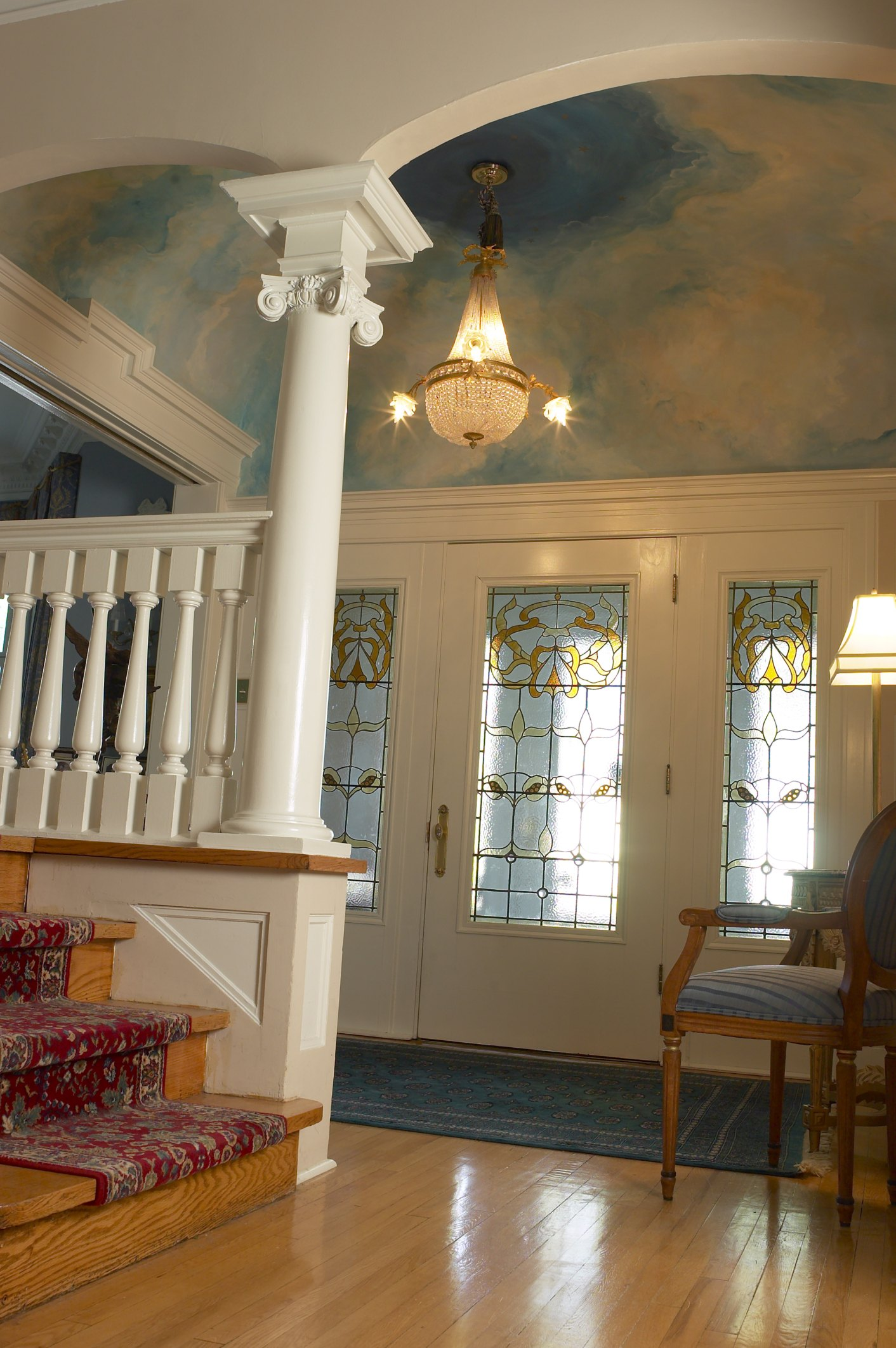 Foyer Room Escape : How to convert an open foyer into a room ehow