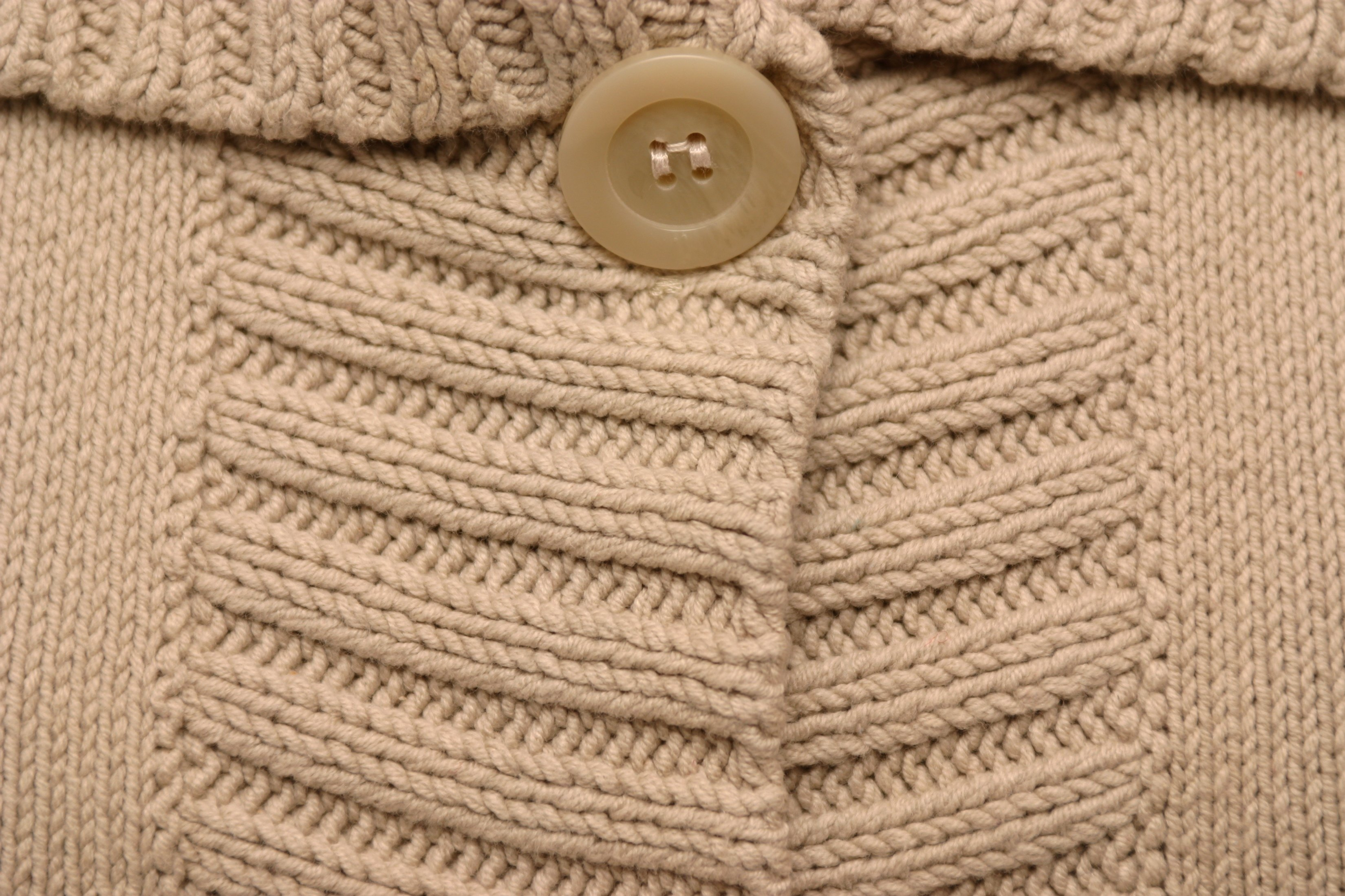 How to Knit a Sweater Collar eHow