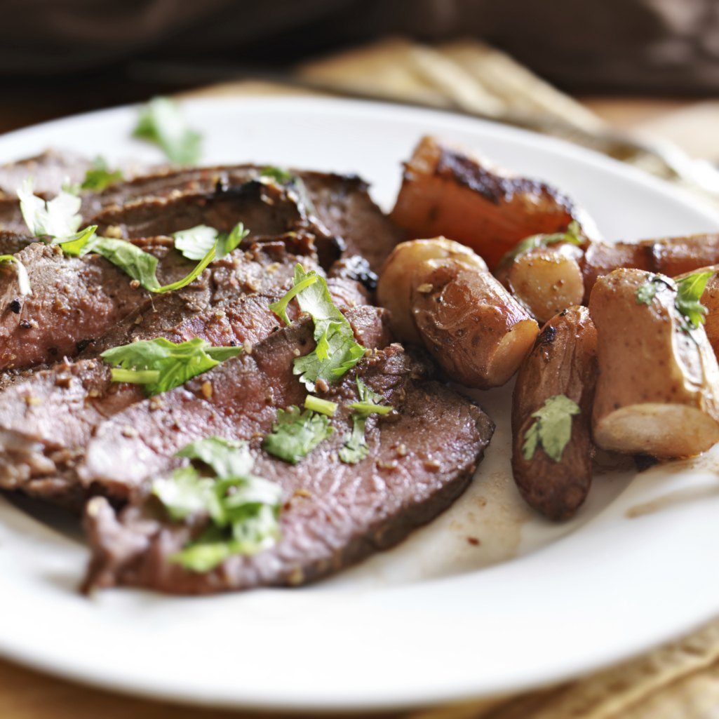 How to Cook Flank Steak at a Low Temperature in the Oven ...