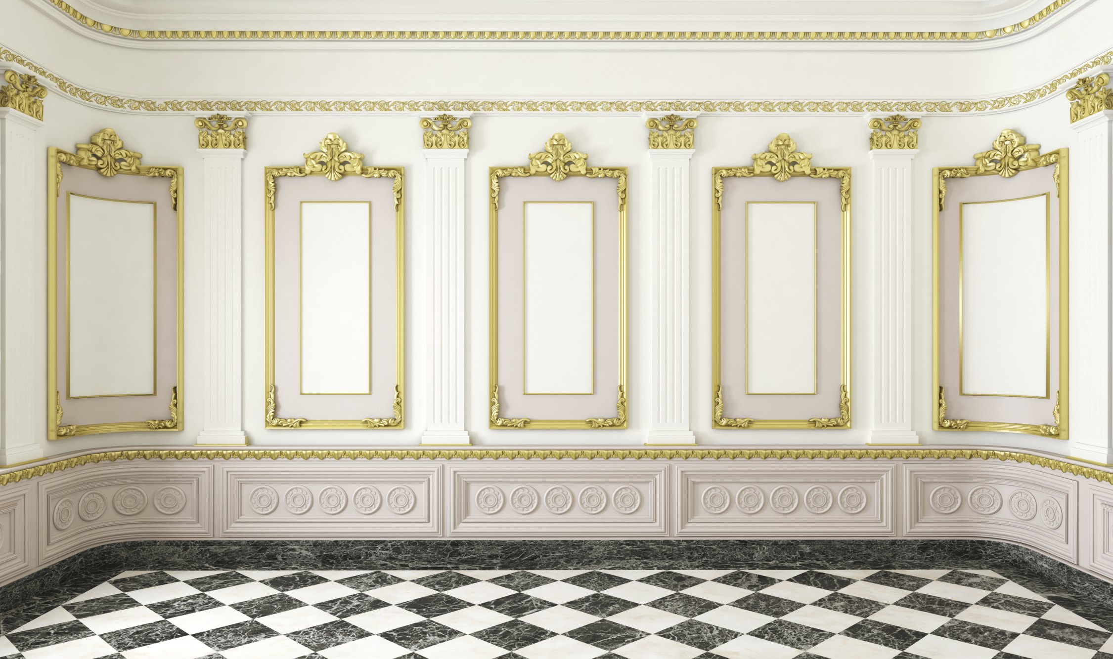 Wall molding decorating ideas with pictures ehow for Decorative wall trim ideas