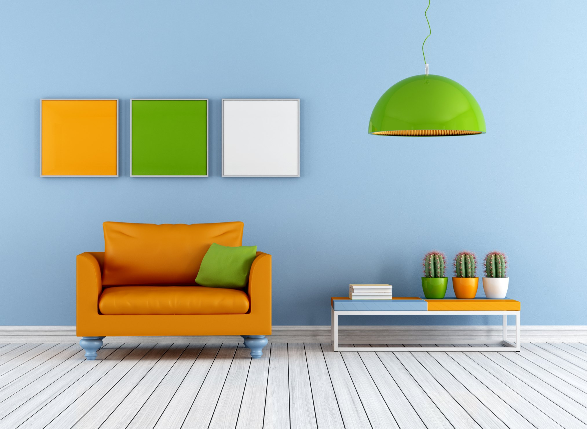 Definition of a triadic color scheme ehow - Wallpaper interior design pictures ...