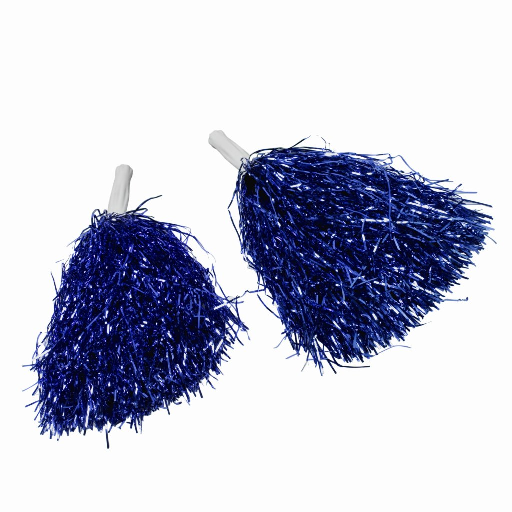 how to make small plastic cheerleading pom poms ehow. Black Bedroom Furniture Sets. Home Design Ideas