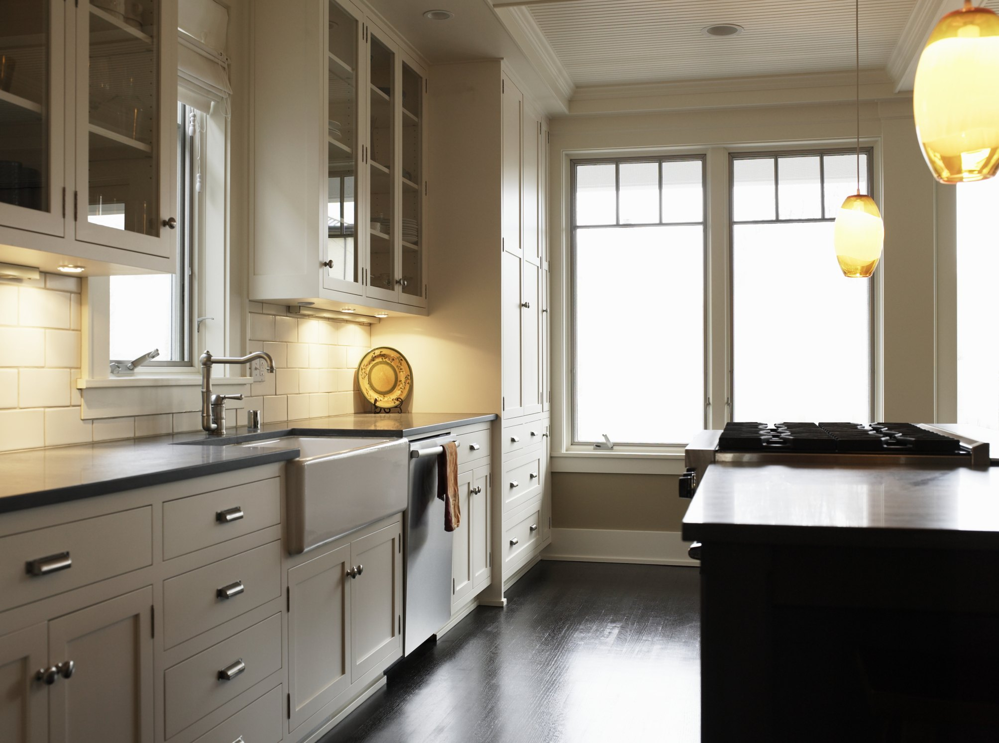 What Is A Kitchen Soffit And Can I Remove It: How To Build An Apron Kitchen Cabinet