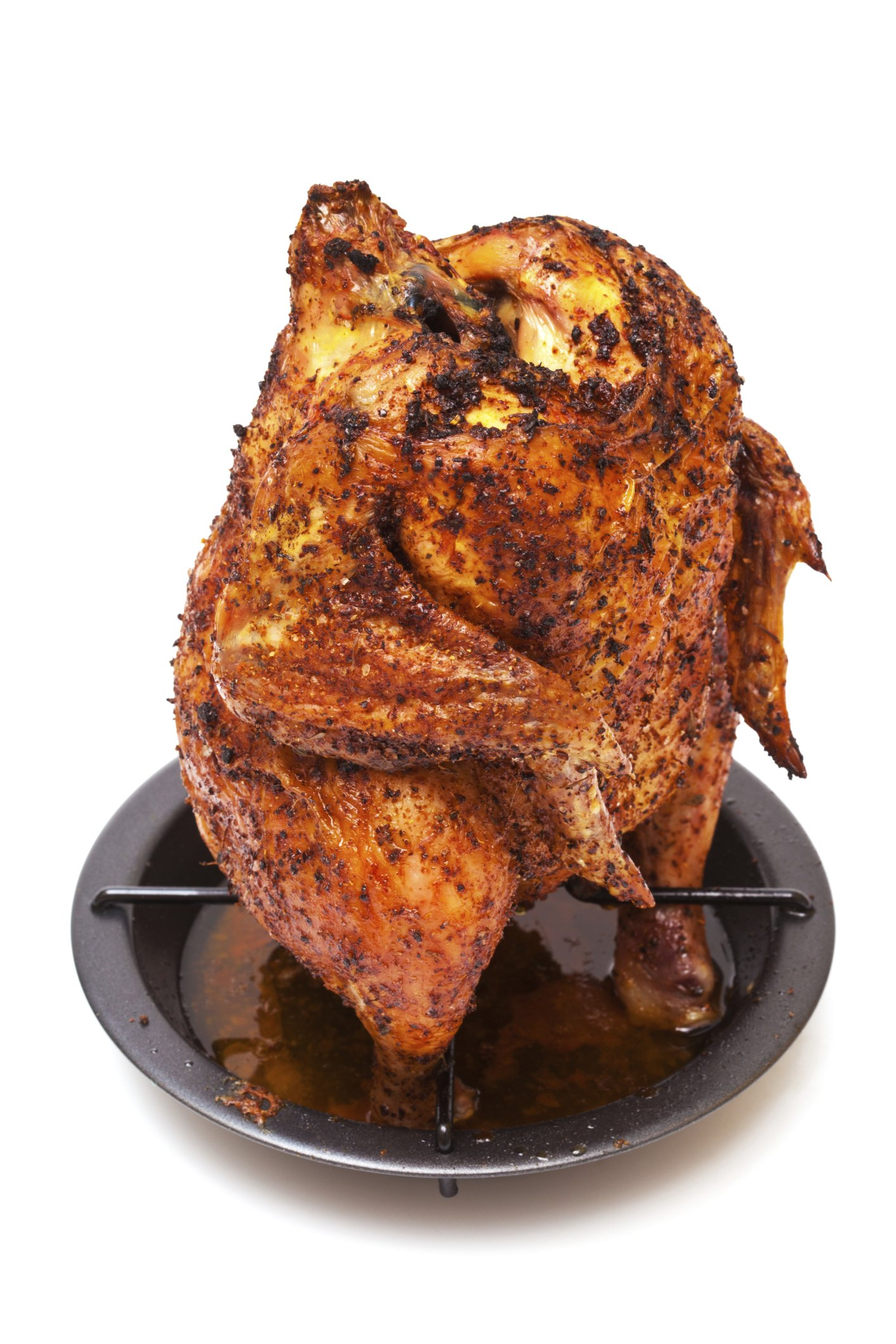 How To Roast Chicken On A Stand Up Rack Ehow