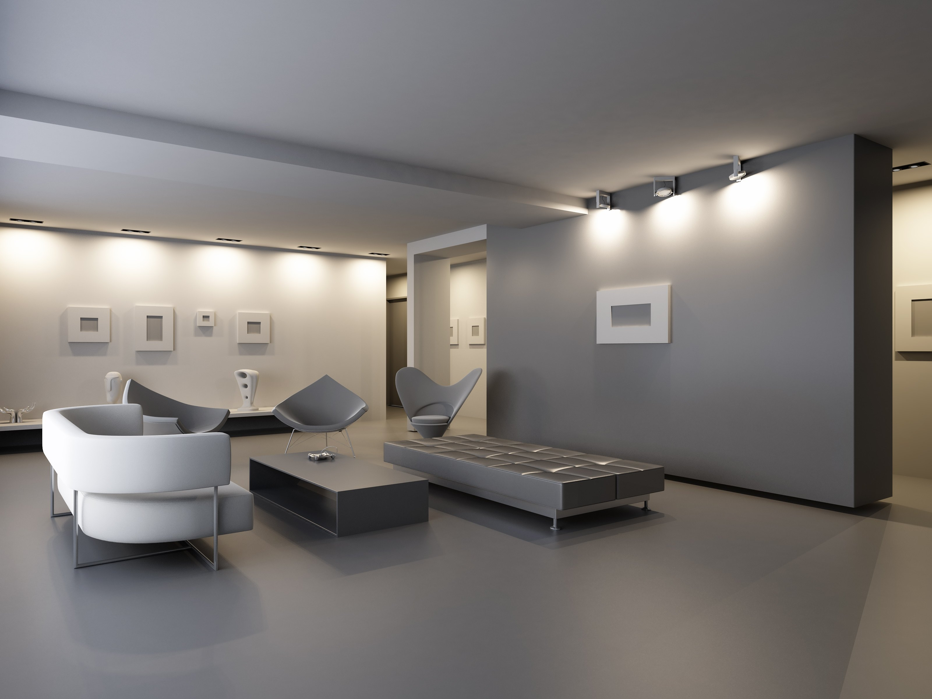 What contrasting color goes with gray with pictures ehow for Pareti colorate casa moderna