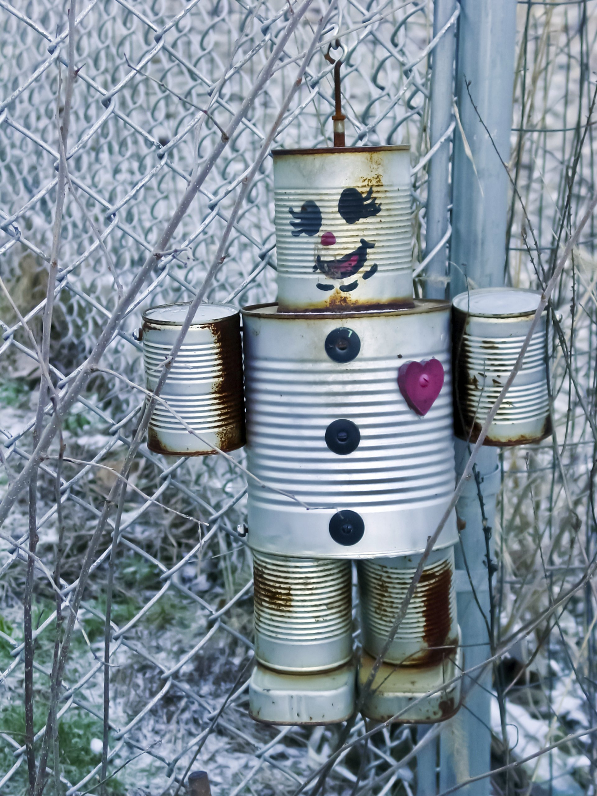 how to make robots out of tin cans ehow