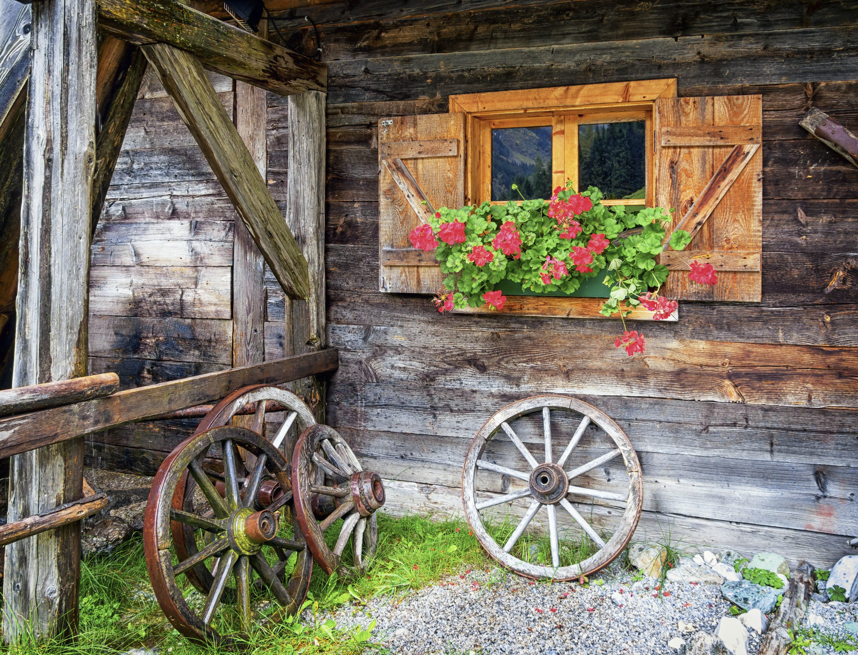 how to use old farm equipment to decorate ehow