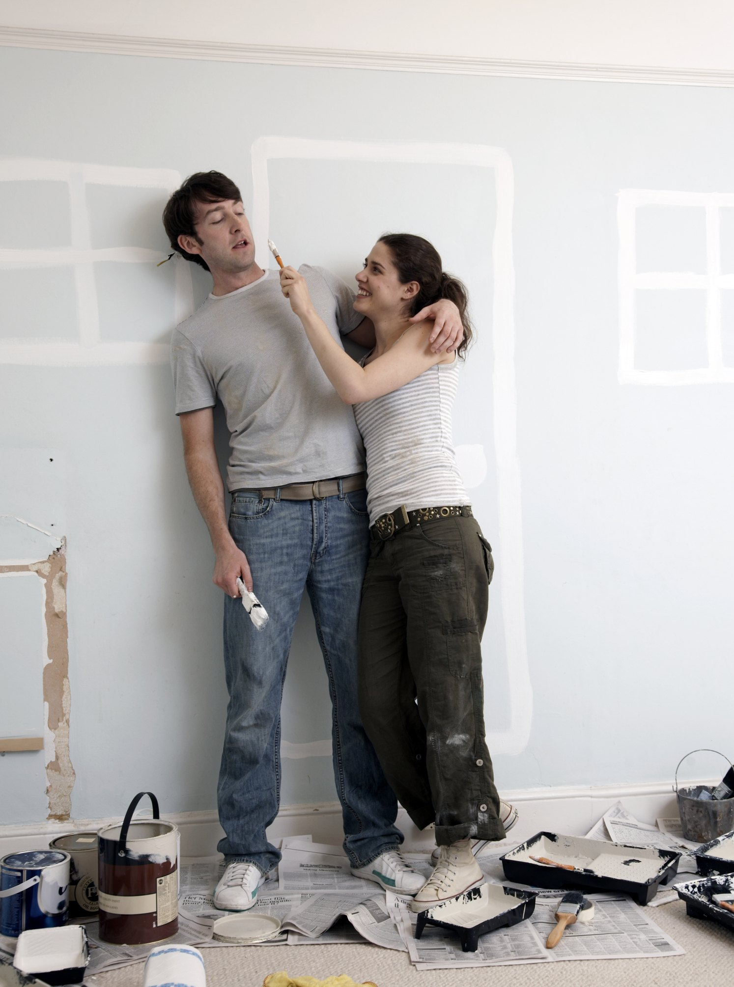 How To Fix An Uneven Painted Ceiling Ehow