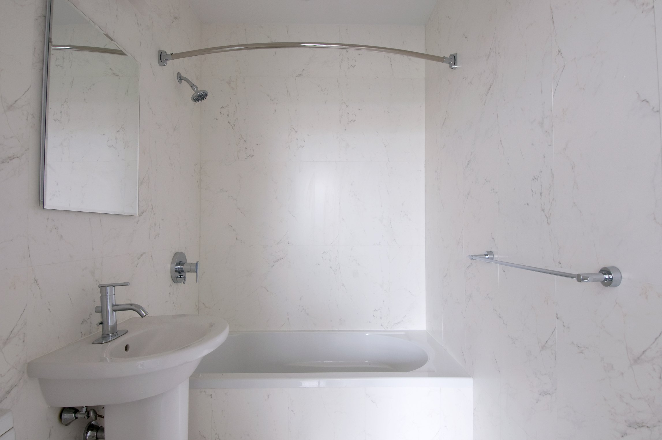 How to Put Wall Trim Around a One-Piece Tub & Shower | eHow